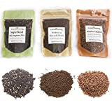 Heirloom Sprouting & Microgreen Seed Variety Pack | Contains...