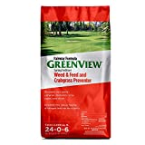 GreenView 2129267 Weed and Feed with Crabgrass Preventer...