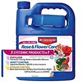 BioAdvanced 701262 All-in-One Rose and Flower Care Plant...