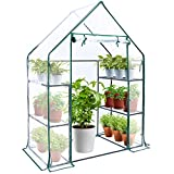 Greenhouse for Outdoors with Improved Transparent PVC Cover,...