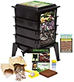 Worm Factory 360 Worm Composting Bin + Bonus What Can Red...