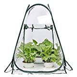 Mini Small Greenhouse for Plant Outdoors Indoor, Pop Up...