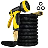 iPower LGHOSEEXPAND25N 25FT Expandable Garden Water Hose...