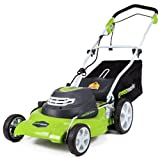 Greenworks 20-Inch 3-in-1 12 Amp Electric Corded Lawn Mower...