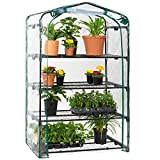 Best Choice Products 40in Wide 4-Tier Mini Greenhouse,...