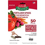 Jobe's Organics Vegetable & Tomato Fertilizer Spikes, 50...