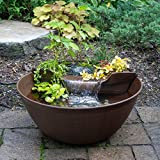 Aquascape 78325 AquaGarden Pond and Waterfall Kit Container...