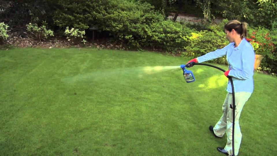 Weed Killer for Large Areas